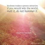 Kindness Makes A Person Attractive