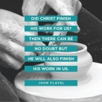 """Did Christ Finish His Work ForUs""???"