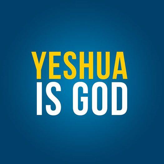 yeshua is God